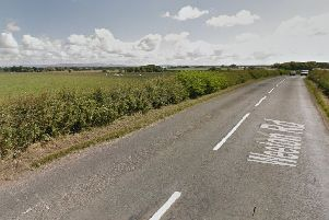 The dog was dumped on Weeton Road. Picture from Google maps