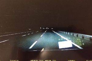 A police chase on the M6 hit speeds of 140mph.