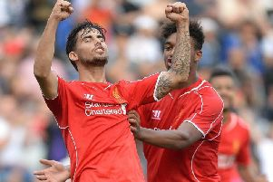 Arsenal scouts were again spotted watching AC Milan's former Liverpool midfielder Suso.