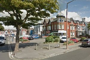 The alleged assault happened at the junction of Wood Street and Park Road. Picture by Google maps