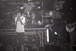 The Stone Roses at Blackpool's Empress Ballroom in August 1989