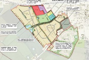 One of the plans put forward by Wyre Council