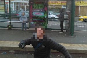 Despite being told about the youths on Twitter, police said the miscreants were not reported to officers (Picture: Heritage Tram Tours/Twitter)