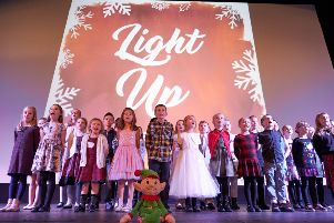 Flakefleet Primary School pupils sing their Christmas song last year