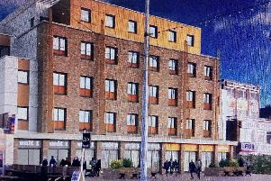 An artist's impression of the new easyHotel, Blackpool