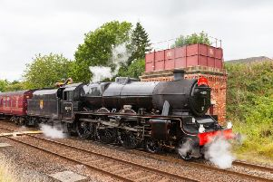 The steam locomotive Leander will visit Preston, Blackpool and the Ribble Valley (Photo: Shutterstock)