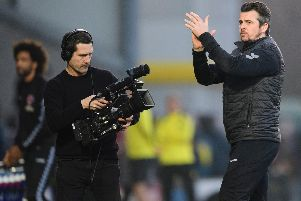 Barton is filmed for the documentary