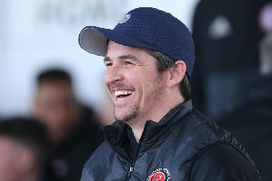 Fleetwood Town boss Joey Barton