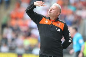Terry McPhillips barks his instructions from the touchline