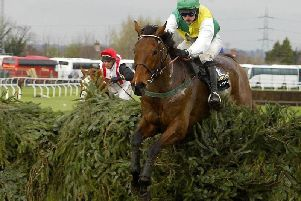 Ruby Walsh wins the Grand National on Hedgehunter in 2005. The horse was owned by Preston North End supremo Trevor Hemmings