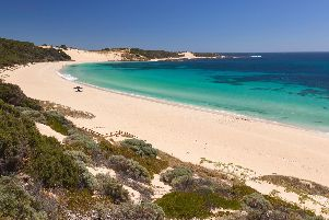 Indijup Beach, one the many beaches on Margaret river