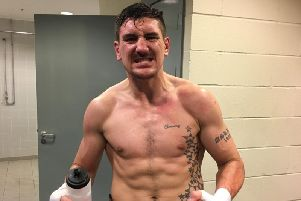 Matty Askin announced his retirement from boxing last month