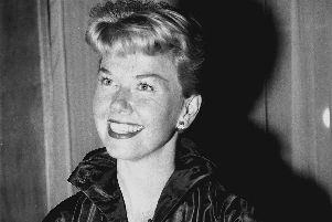 Actress Doris Day at Claridge's Hotel in London. The Hollywood legend and singer has died aged 97.