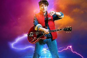 Olly Dobson, who will play Maty McFly in the new Back to the Future musical, which will premiere in Manchester in 2020 before transferring to London's West End.