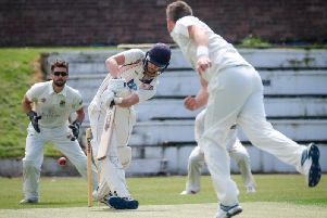 Matt Houston batting for Blackpool in the draw with Netherfield   Picture: MARTIN BOSTOCK
