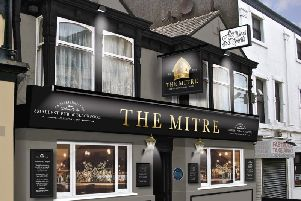 An image showing changes proposed for The Mitre