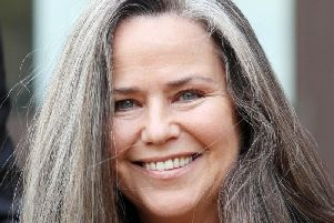 """Koo Stark, former girlfriend of Prince Andrew, who has been given """"substantial"""" damages after suing the owner of a website which suggested she was a """"porn actress""""."""