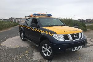 Picture by HM Coastguard Fleetwood