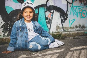 Lil Beatz has launched its own dance clothing range