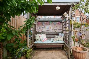 Anne Hindle has been shortlisted for Cuprinol Shed of the Year