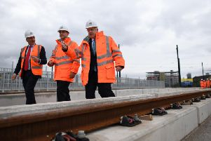 Prime Minister Boris Johnson has vowed to fund a new rail line from Manchester to Leeds, which he said will improve transport links across the North