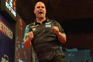 Rob Cross conjured up a dramatic victory    Picture: Chris Dean/PDC