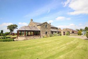 Dating back to 1872, Dansons Farmhouse is a striking rural property boasting five bedrooms, three reception rooms, and three bathrooms.