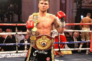 Rose's fight against Anthony Fowler will top the bill in Liverpool this Friday