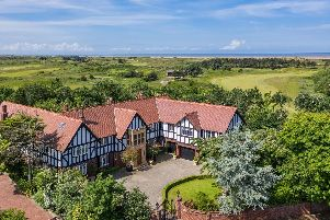 This mock Tudor home is comfortably one of the most stunning properties in the country.
