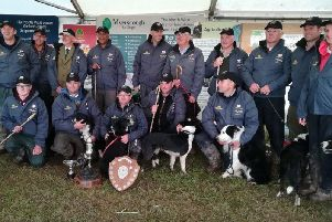 Myerscough was the first college to host the English national sheepdog trials