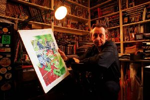 Artist Bryan Talbot, from Preston, who has written a new Batman two-part story