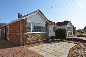 This semi-detached true bungalow is on the market for 135,000