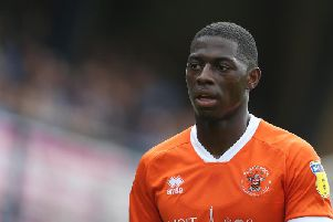Kaikai scored his first goal for the club against Gillingham on Tuesday