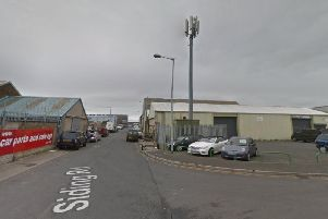 The land, on the corner of Siding Road and Navigation Way in Fleetwood, that has been sold off by Wyre Council for 15,000 (Picture: Google Maps)