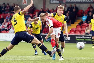 Kyle Dempsey took full advantage of his first league start for Fleetwood in 11 months
