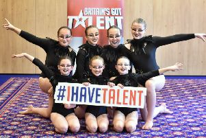 Picture by Julian Brown 15/09/19''The Amelia Quigley Dance Company''Britain's Got Talent auditions at The Grand Hotel, Blackpool