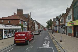 The fight broke out in Marshall Avenue, Bridlington. Picture: Google