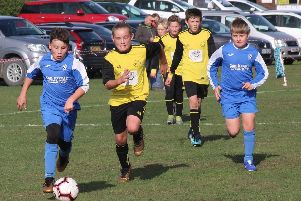 Action from Heslerton v Scholes Park at the weekend