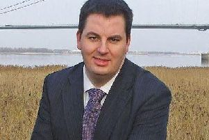 Brigg & Goole MP Andrew Percy