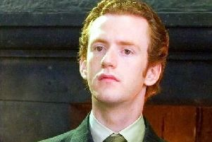 Chris Rankin, who played Percy Weasley in the Harry Potter movies.