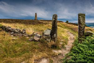 Picture James Hardisty.   Cook's Monument, above Great Ayton, on Easby Moor, located in the North York Moors national park.