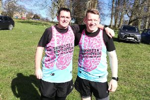 Kirk Southern and Ben Wright are running the London Marathon.