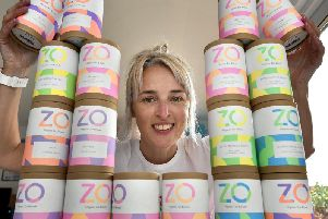 Sharon Crowley, founder of ZO Tea.