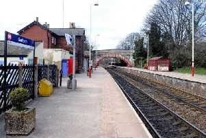 Garforth railway station. Pic: James Hardisty