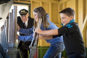 Go behind the scenes at the North Yorkshire Moors Railway