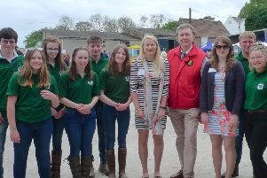 East Yorkshire MP Sir Greg Knight joined young farmers at the East Riding Young Farmers Clubs 2019 County Rally.