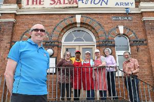 Volunteers at the Salvation Army in Bridlington.