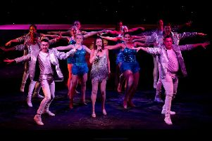 Julie Hatton dancers feature in the show at the YMCA