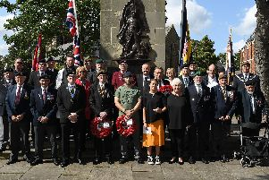 Veterans & family. Pictures by Paul Atkinson: NBFP PA1933-7c