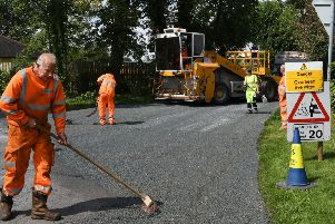 A number of sites in this area have seen road improvement work.